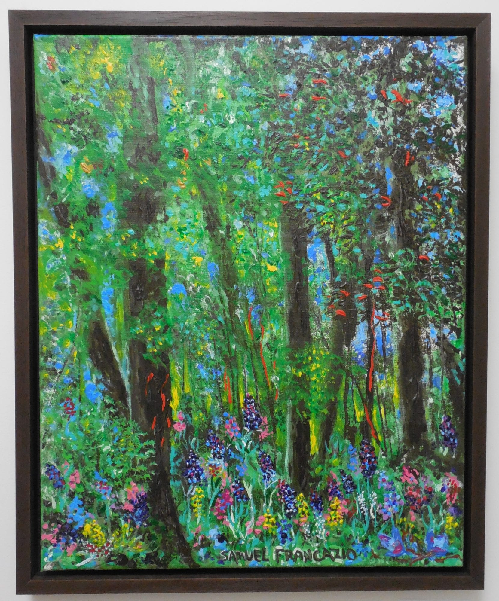 "Sam Francazio - ""Forest of Color"""